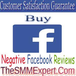 Buy Facebook Negative Reviews